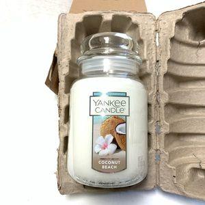 Yankee candle Coconut Beach 22oz